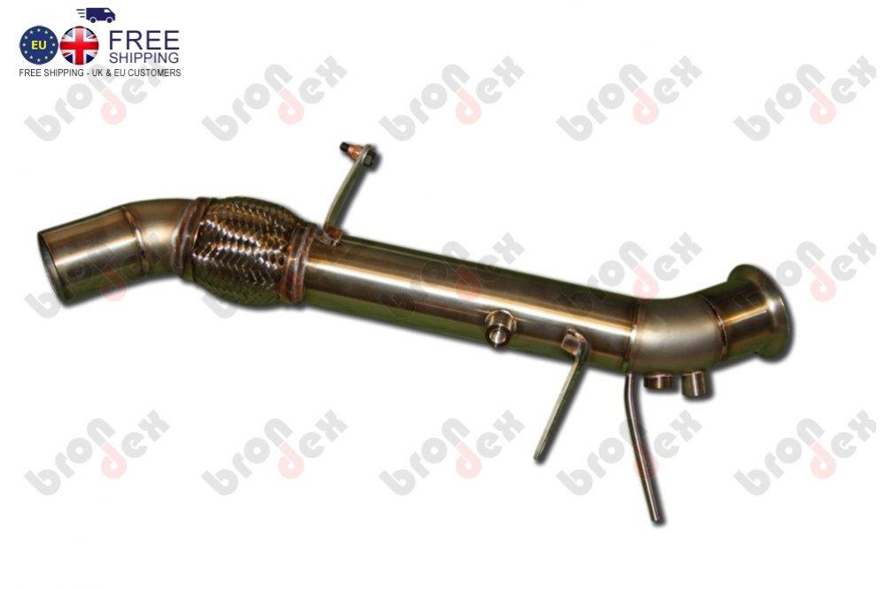 downpipe bmw 320d F30 F31 n47 engine